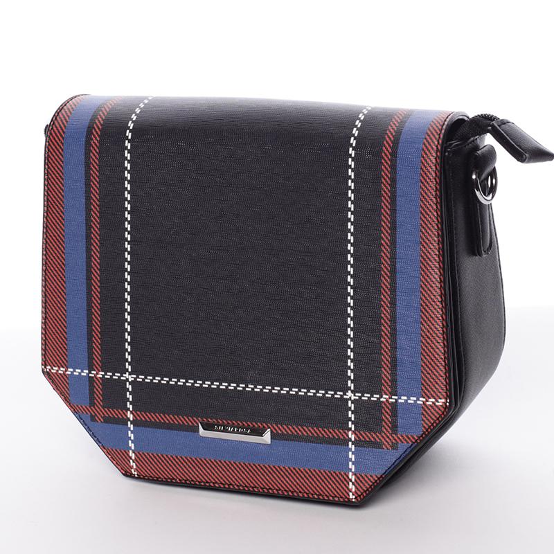 Trendy čierna crossbody kabelka - Silvia Rosa Medea