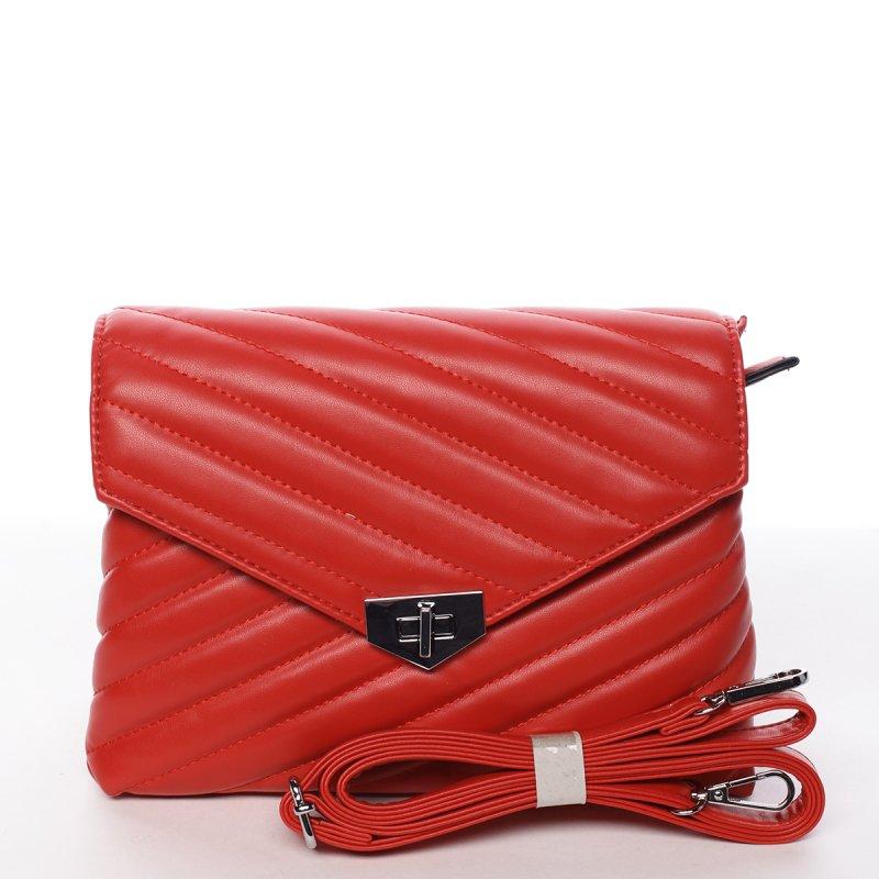 Módna originálna crossbody kabelka červená - Silvia Rosa Nastaran