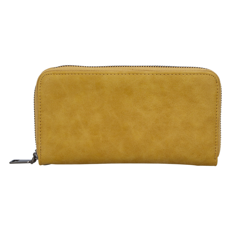 Elegantná dámska tmavožltá peňaženka - Just Dreamz Mayce