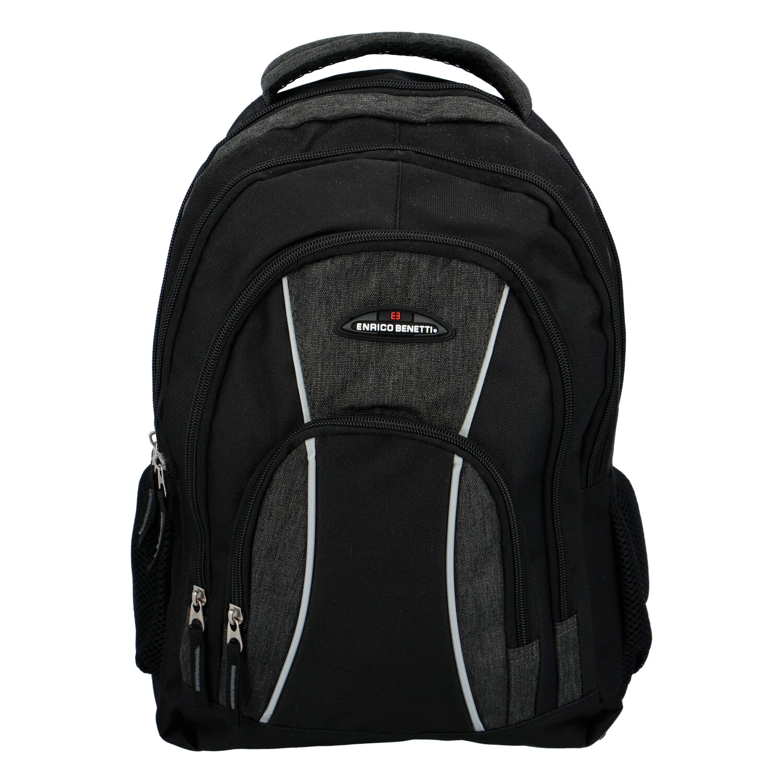 Športový batoh čierno sivý - Enrico Benetti Schenzen