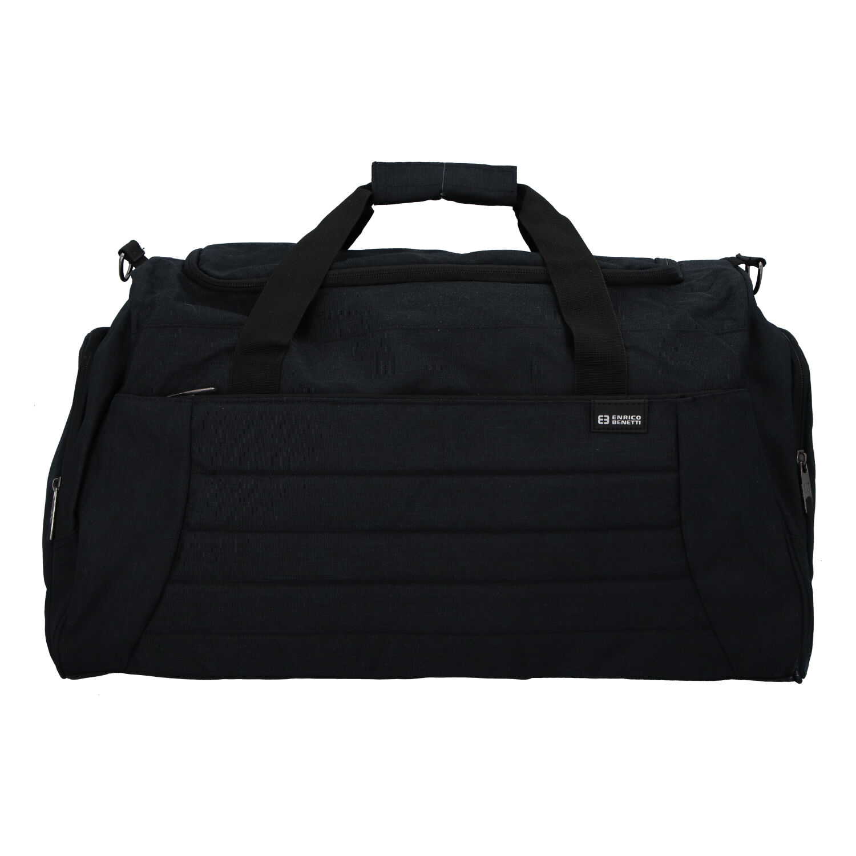 Cestovná taška čierna - Enrico Benetti Riksmus