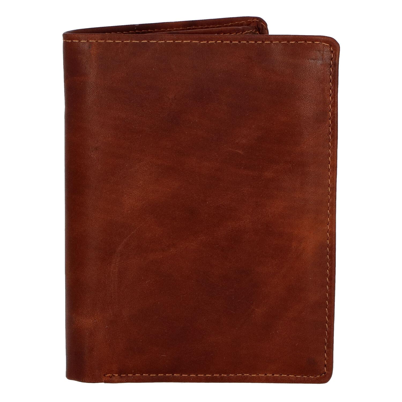 Pánska kožená peňaženka hnedá - Tomas Palac