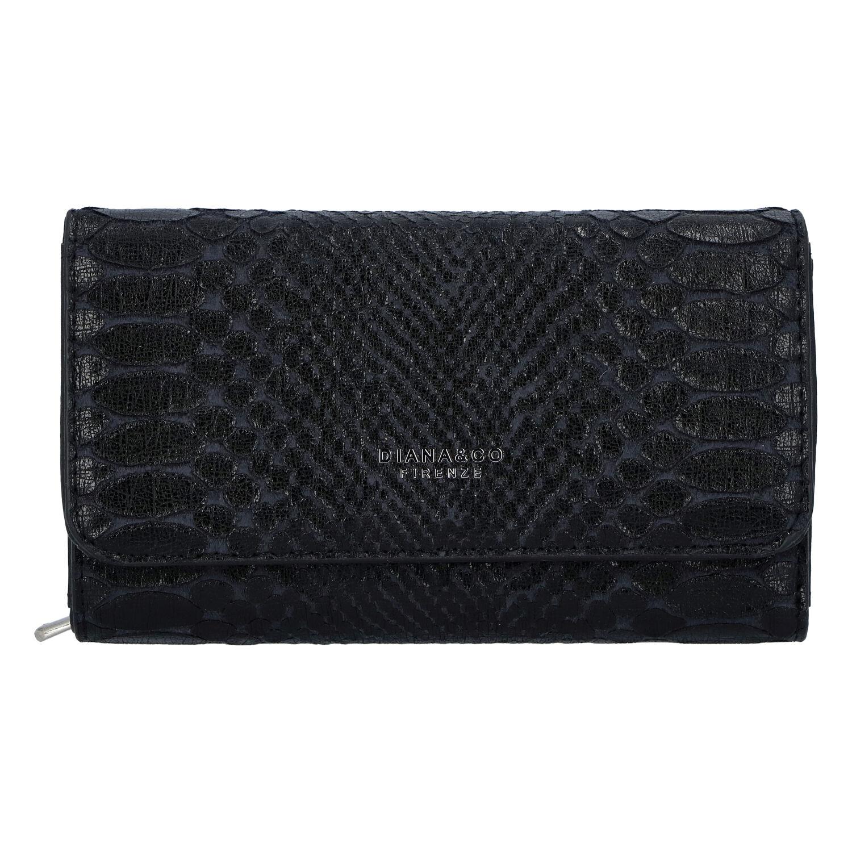 Dámska peňaženka čierna - DIANA & CO Snies