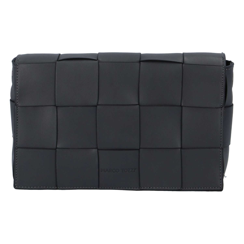 Dámska módna listová kabelka sivá - Marco Tozzi Zina