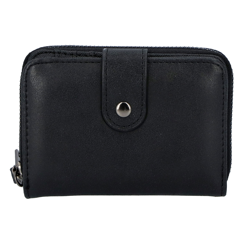 Dámska praktická čierna peňaženka - Just Dreamz Erin