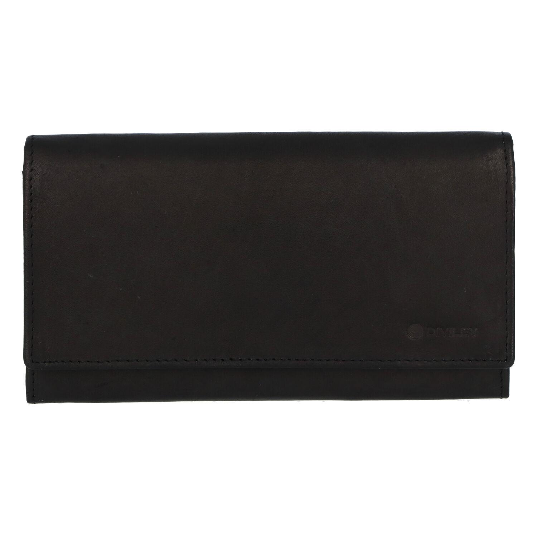 Dámska kožená peňaženka čierna - Diviley 4000M