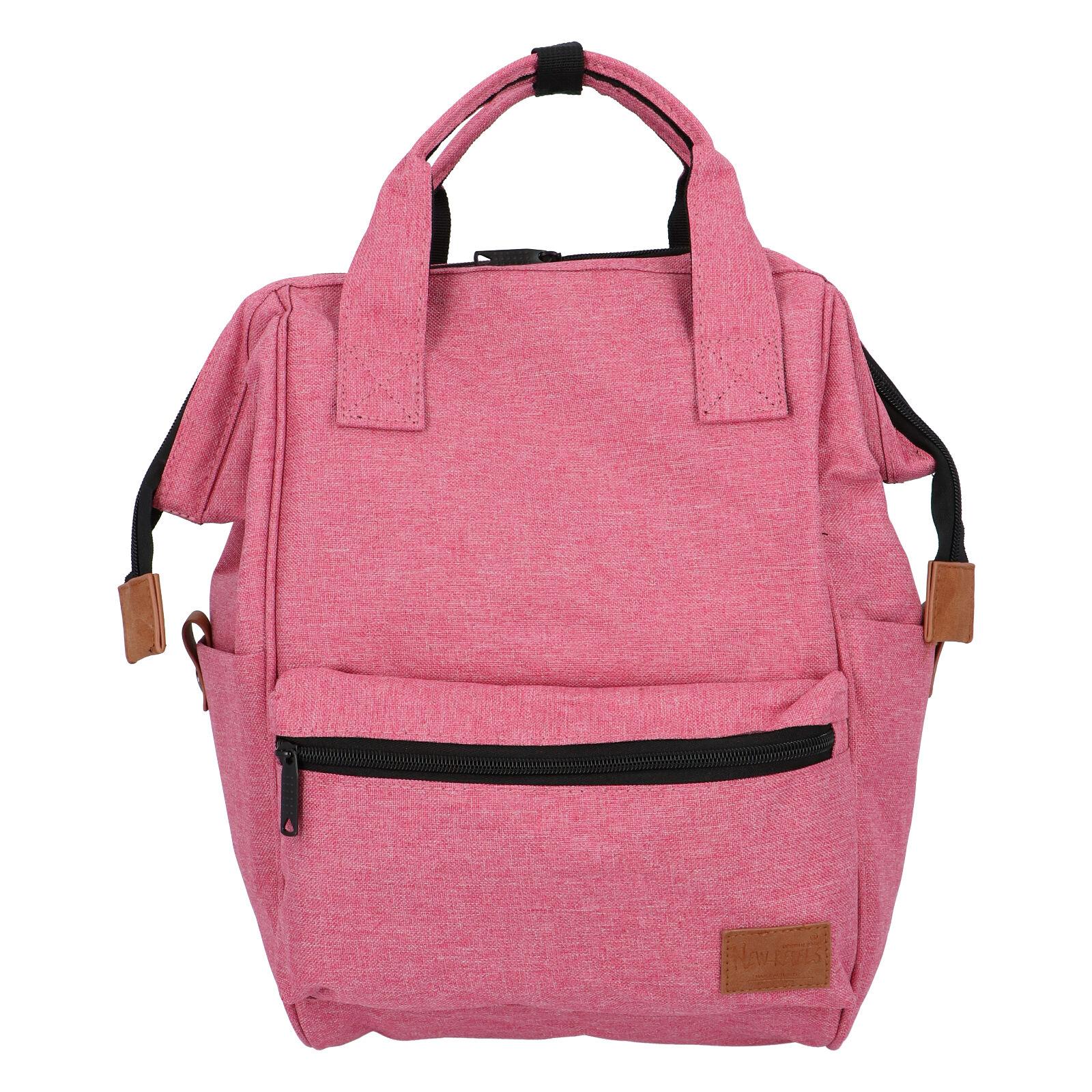 Látkový batoh ružový - New Rebels Cody