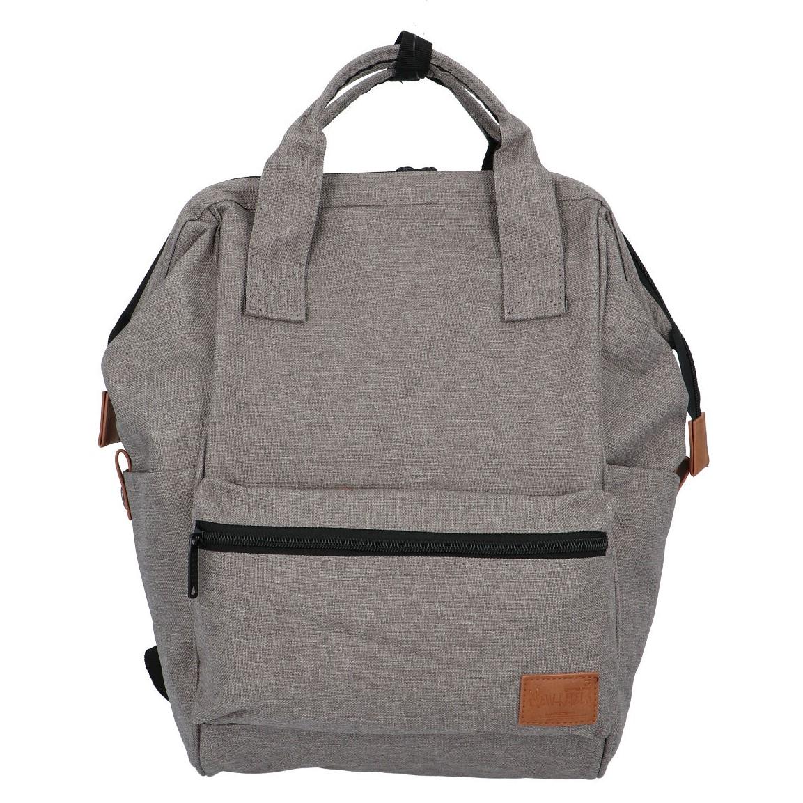 Látkový batoh sivý - New Rebels Cody