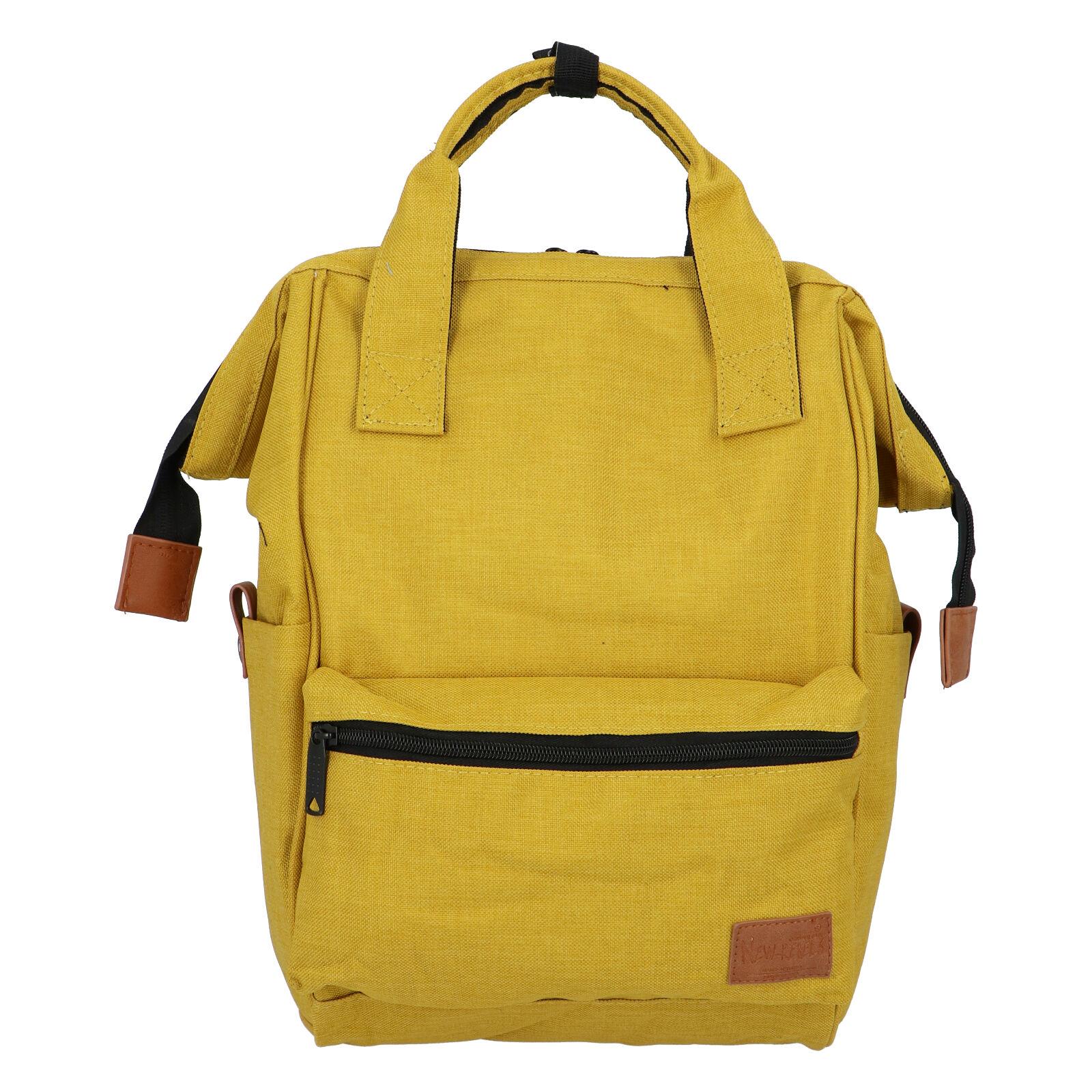 Látkový batoh žltý - New Rebels Cody