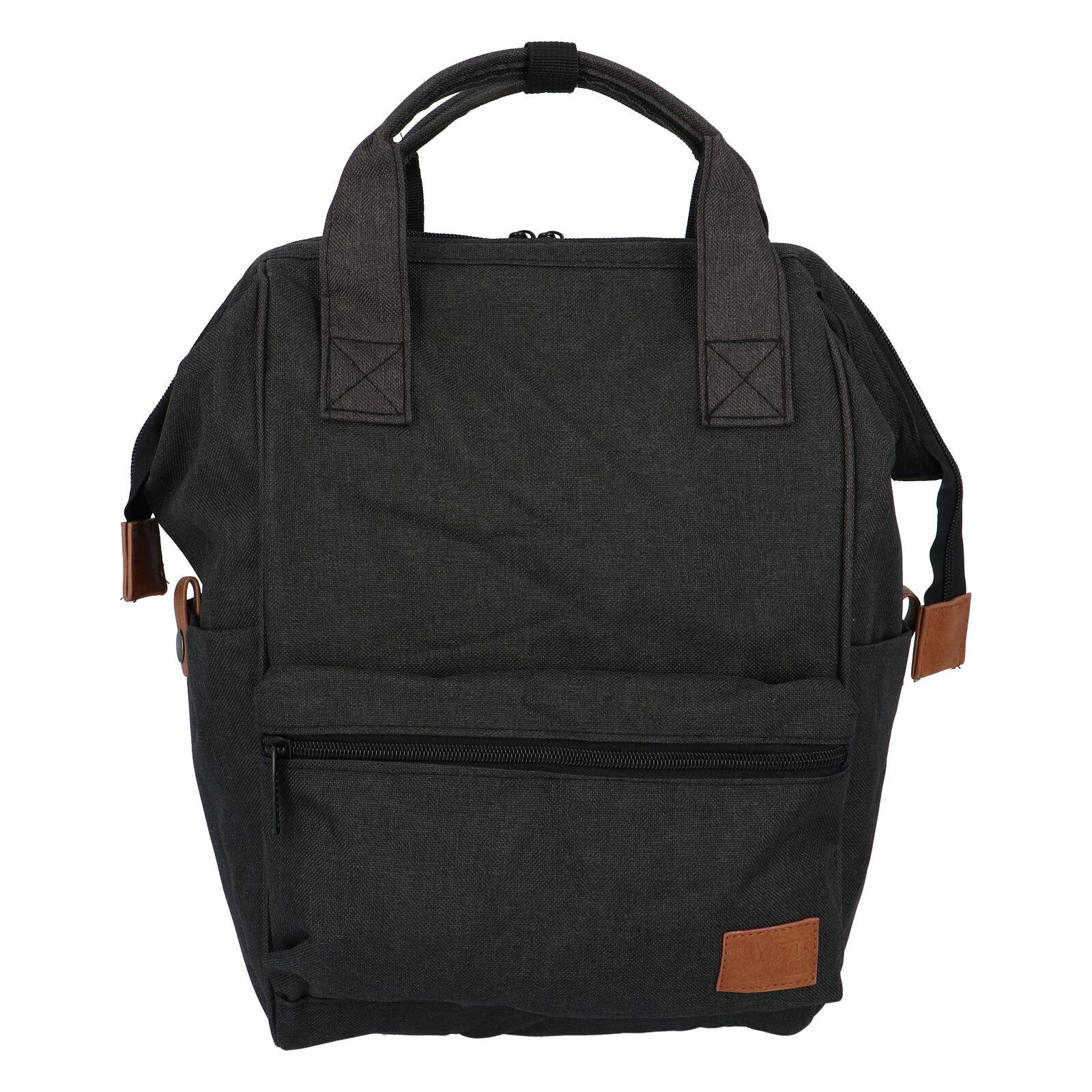 Látkový batoh čierny - New Rebels Cody