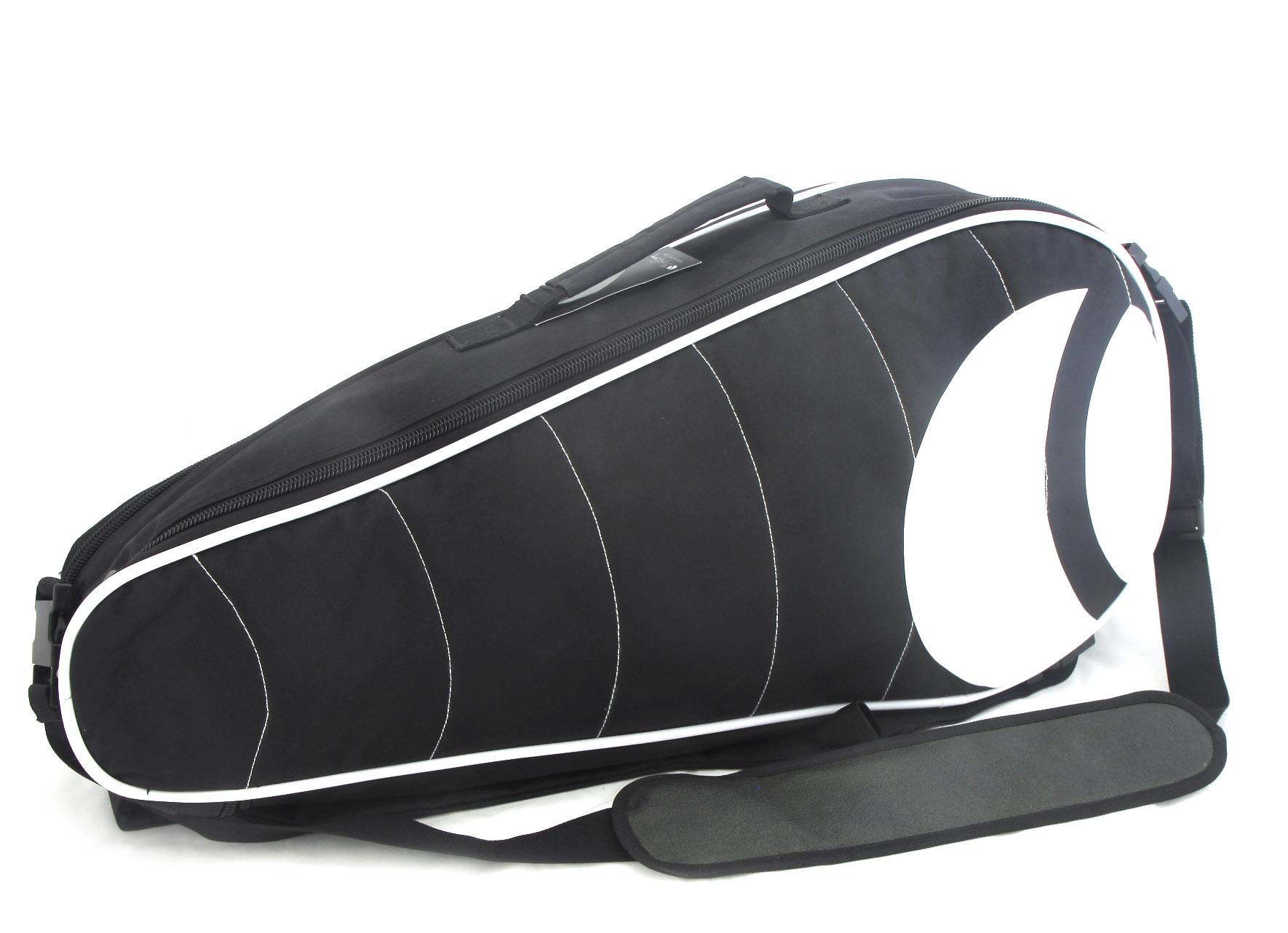 Pánska tenisová taška čiernobiela - Björn Borg BV94001