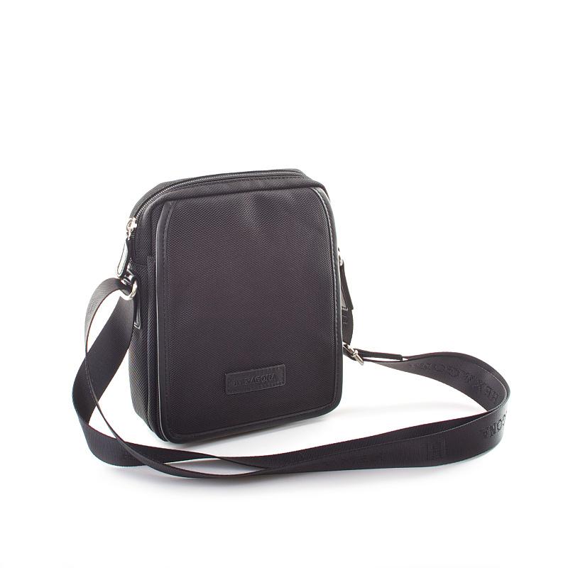 Čierna pánska taška cez rameno Hexagona D72283