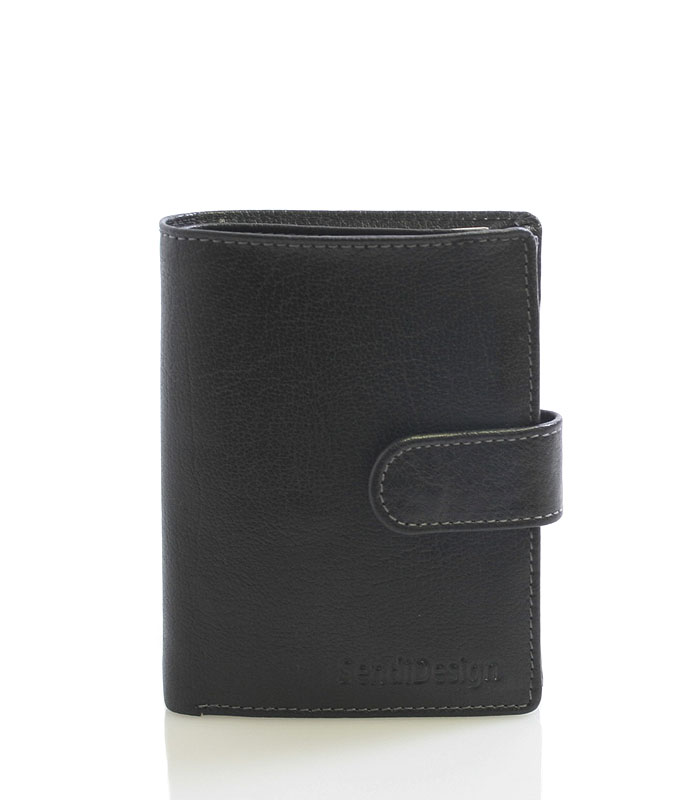 Pánska peňaženka čierna - SendiDesign 1040