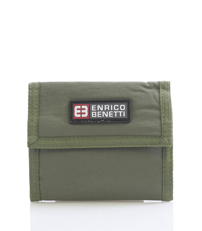 Olivová látková peňaženka Enrico Benetti 14607