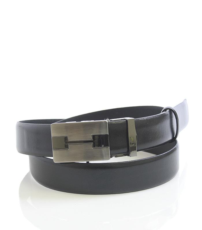 Pánsky oblekový opasok automatický čierny - Maxim