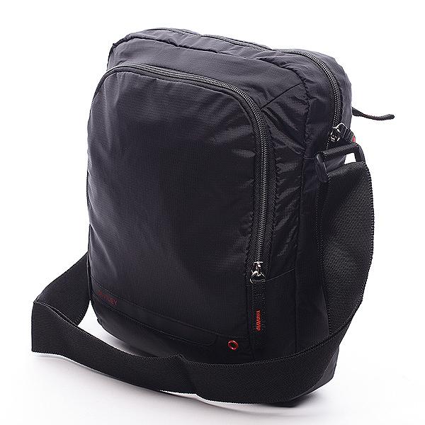 Čierna taška cez rameno Diviley Rourke