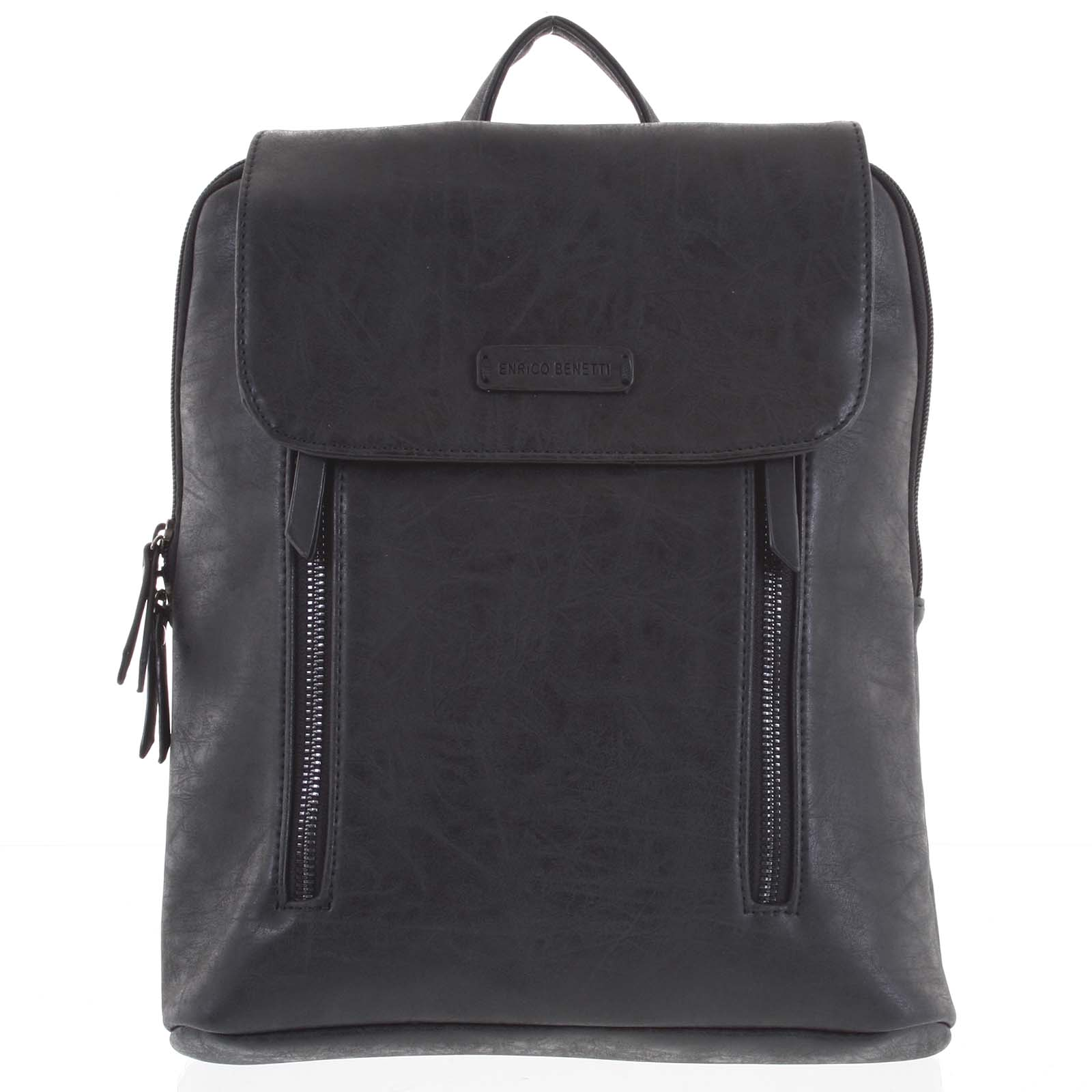 Dámsky stredný batoh čierny - Enrico Benetti Aviana