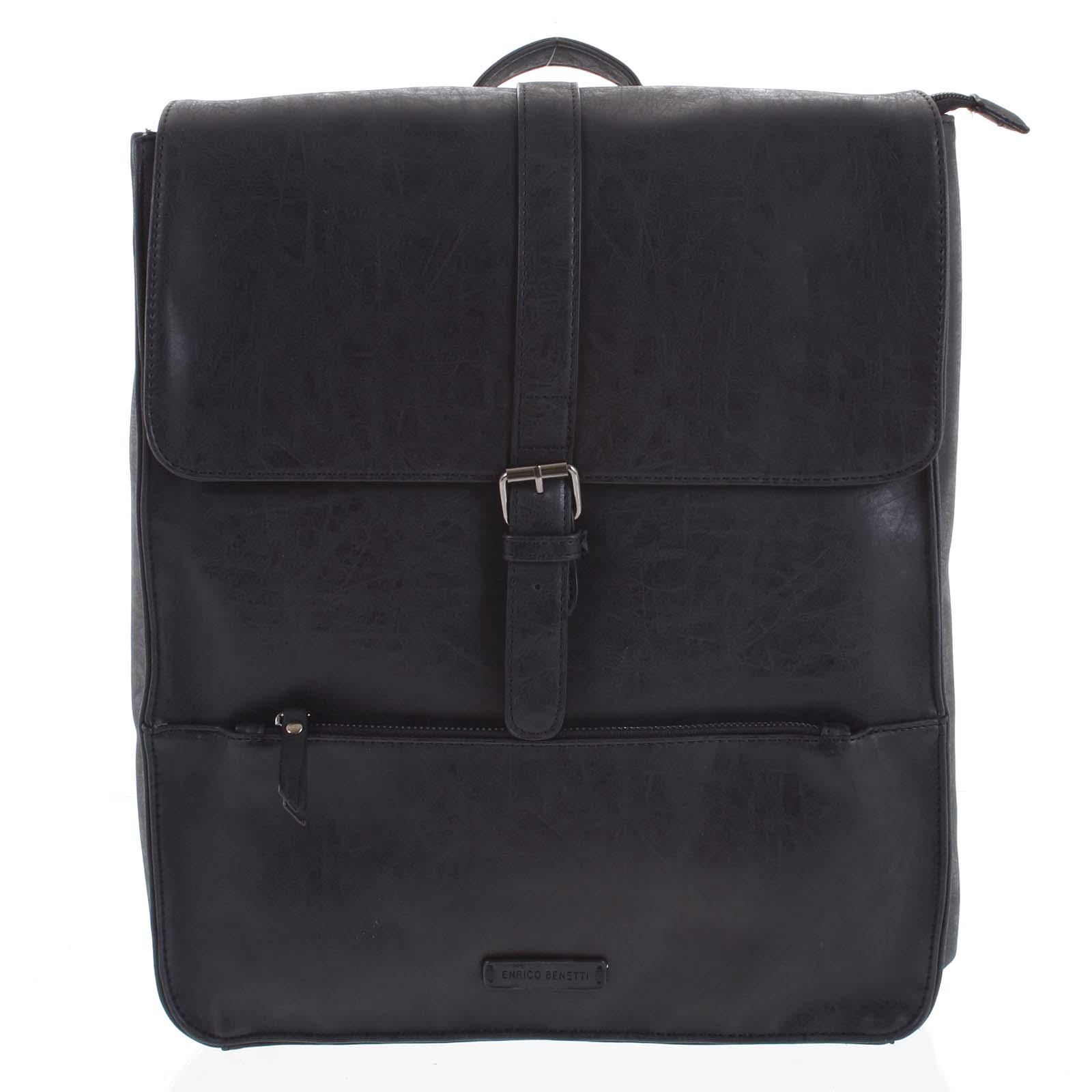 Pánsky batoh čierny - Enrico Benetti Kaarlo