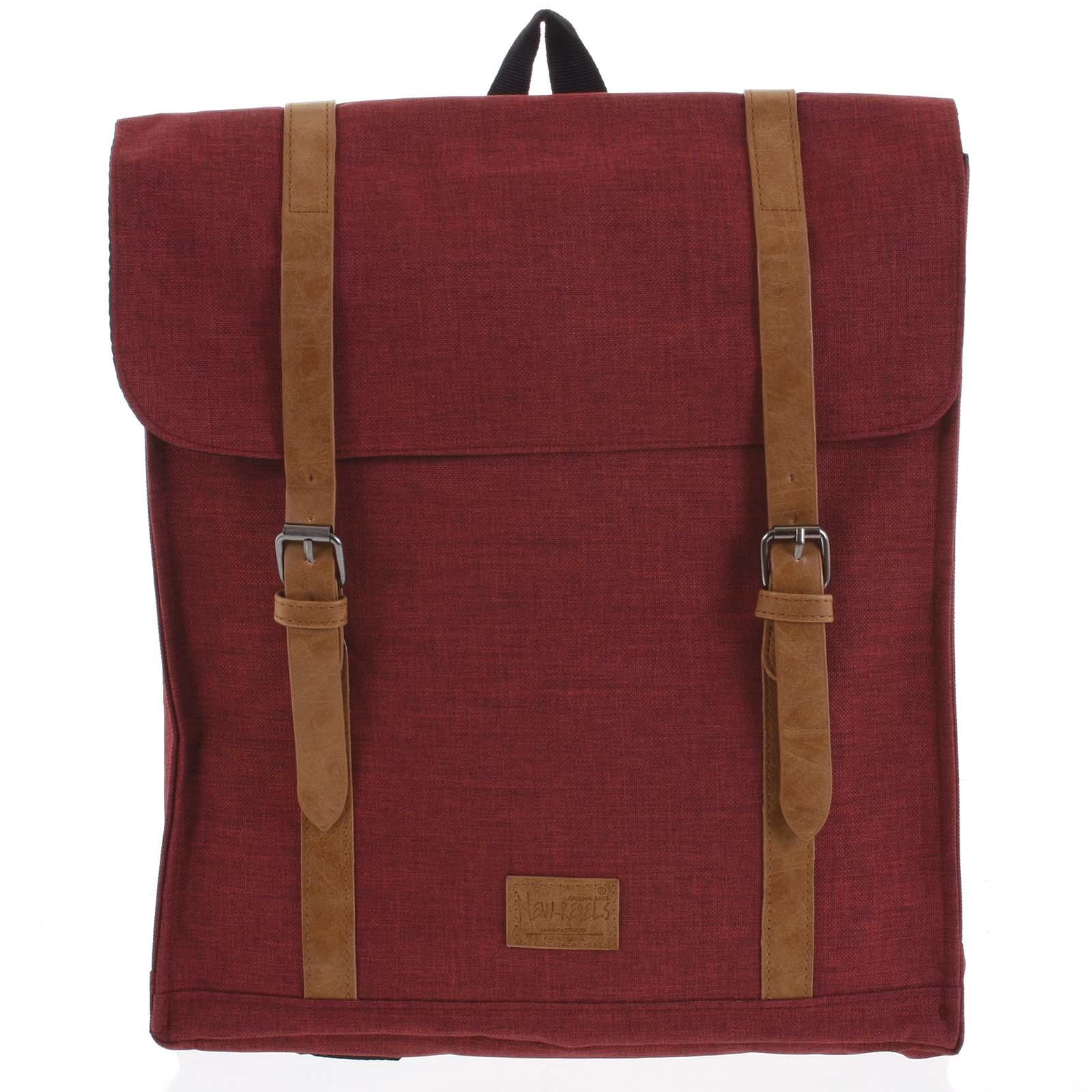 Mestský batoh červený - New Rebels Gunner