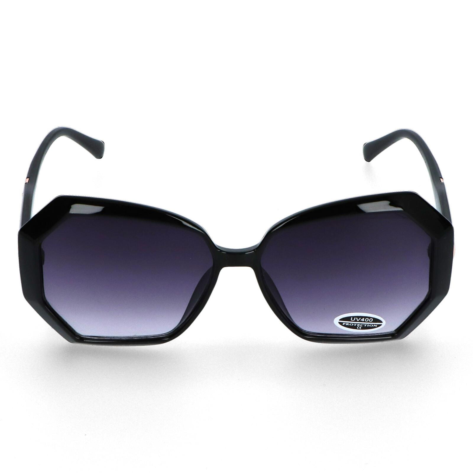 Dámske slnečné okuliare čierne - S8001