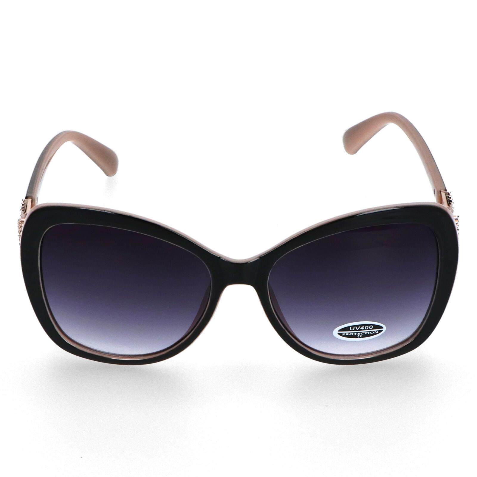 Dámske slnečné okuliare krémovoružové - S8111