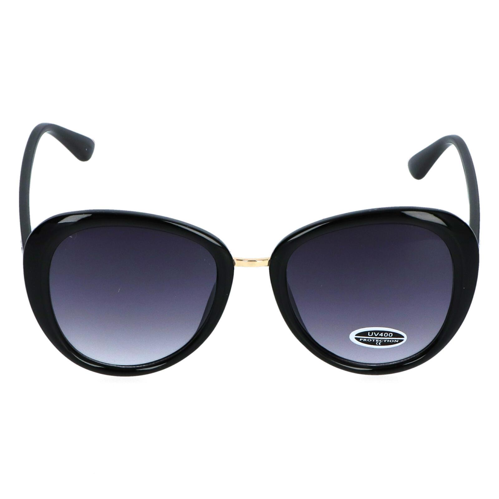 Dámske slnečné okuliare čierne - S3336