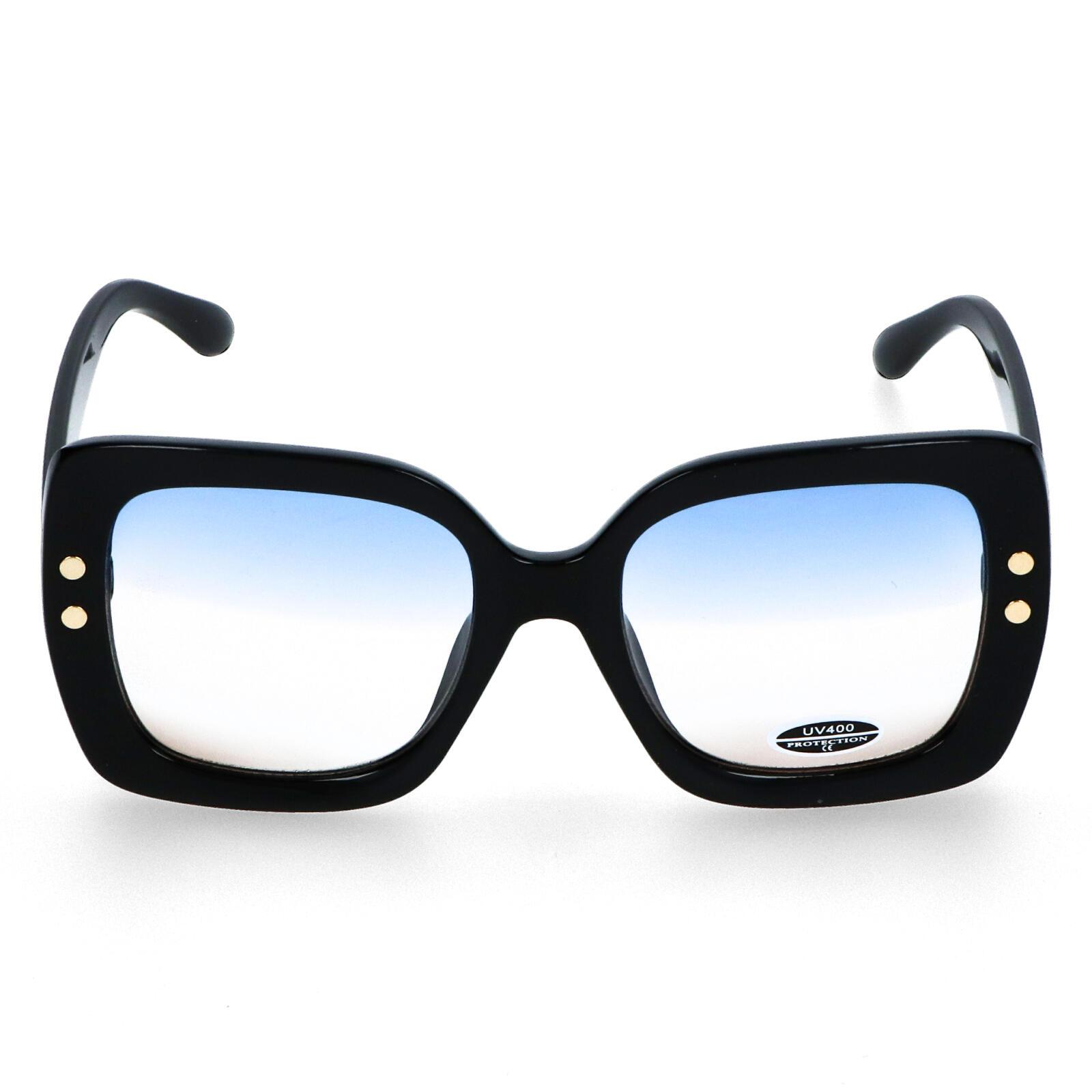 Dámske slnečné okuliare čierne - S1013