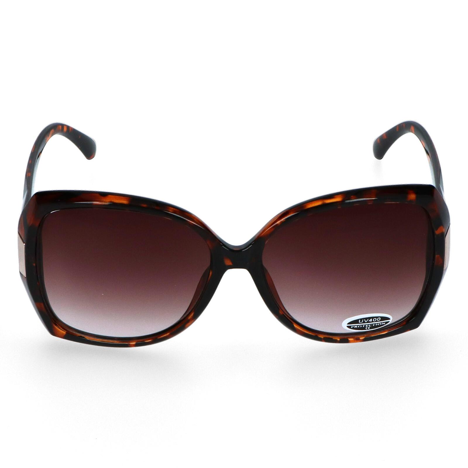 Dámske slnečné okuliare hnedé - S5803