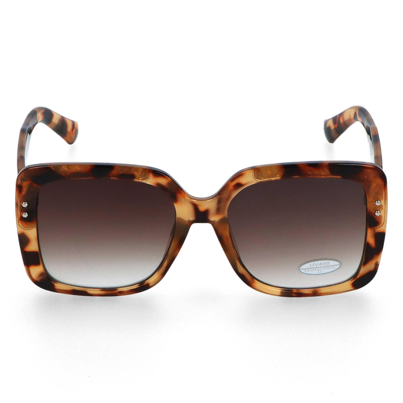 Dámske slnečné okuliare hnedé - S3212