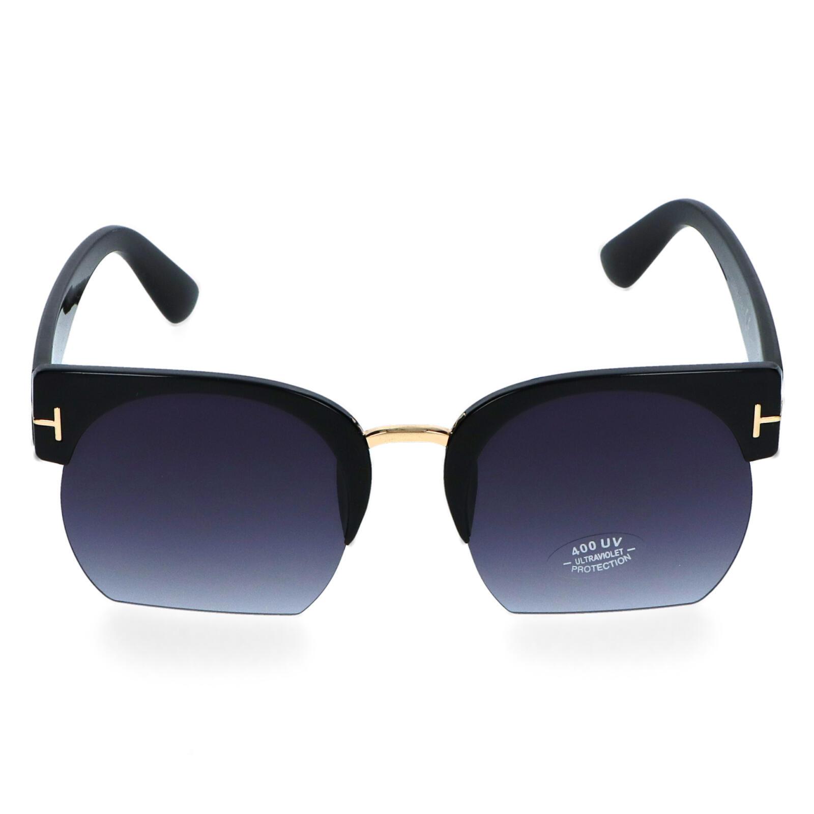 Dámske slnečné okuliare čierne - E5288