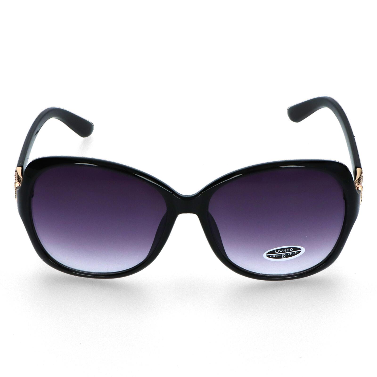 Dámske slnečné okuliare čierne - S0605