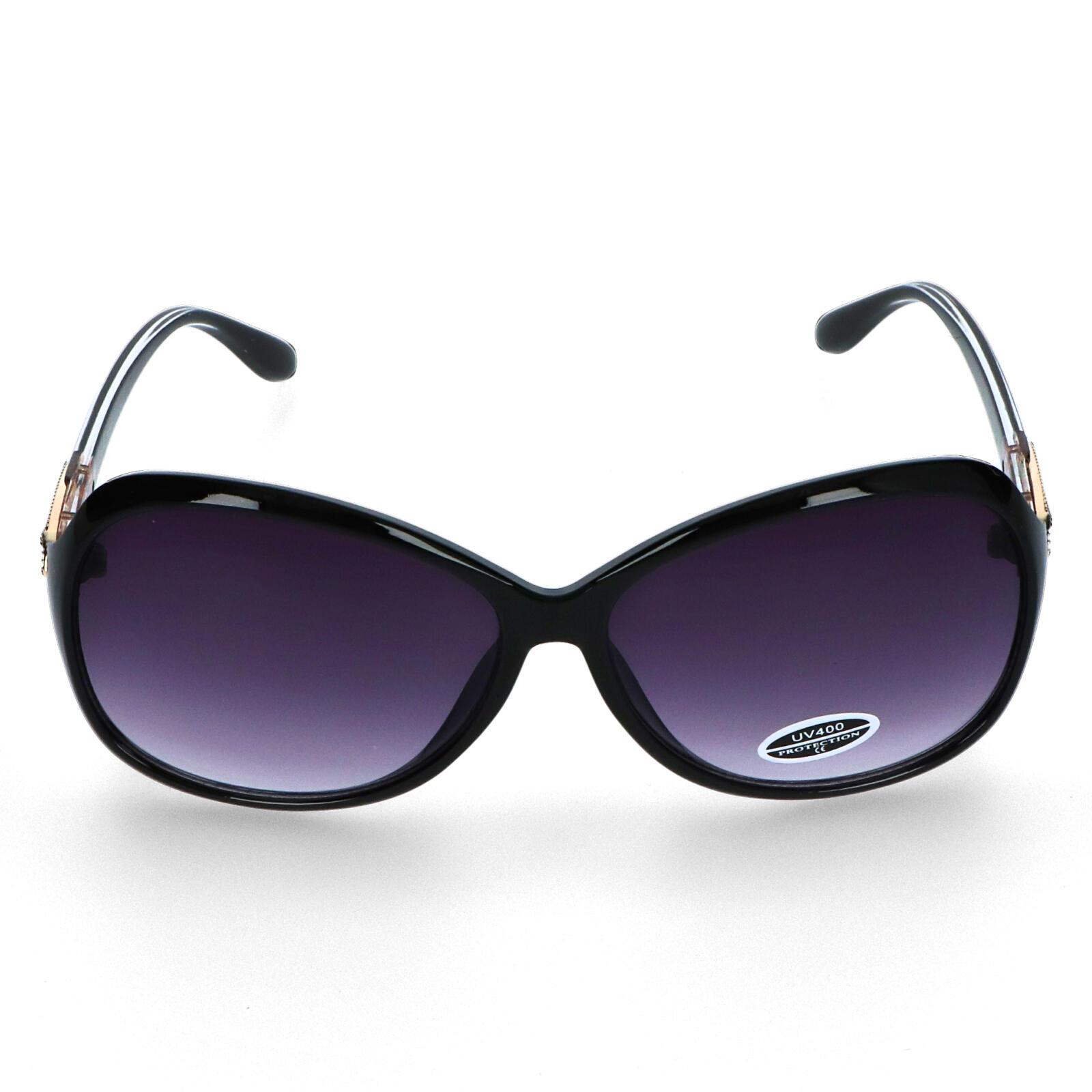 Dámske slnečné okuliare čierne - S0705