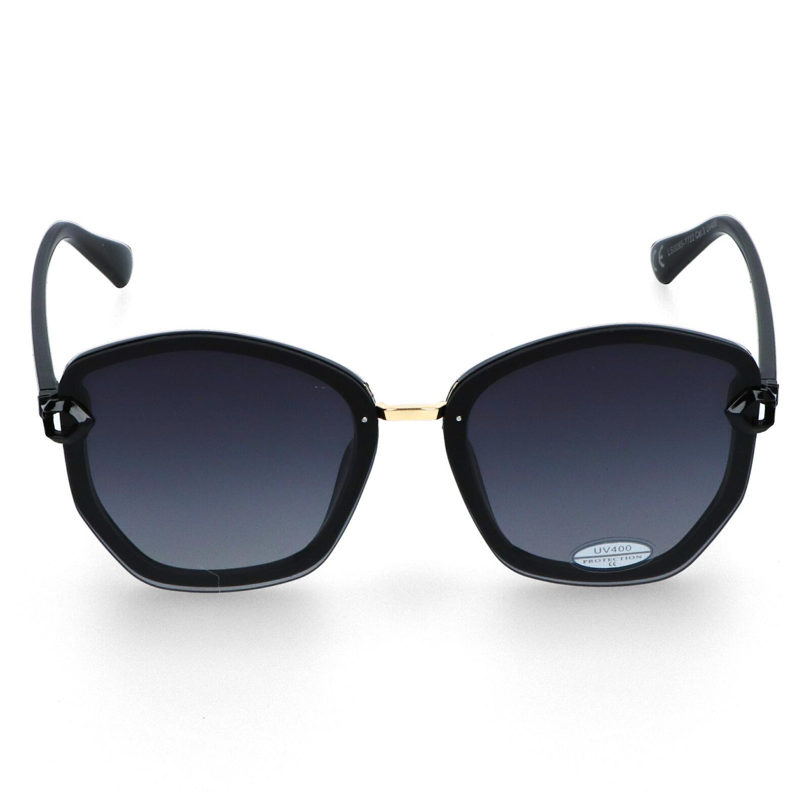 Dámske slnečné okuliare čierne - LS58