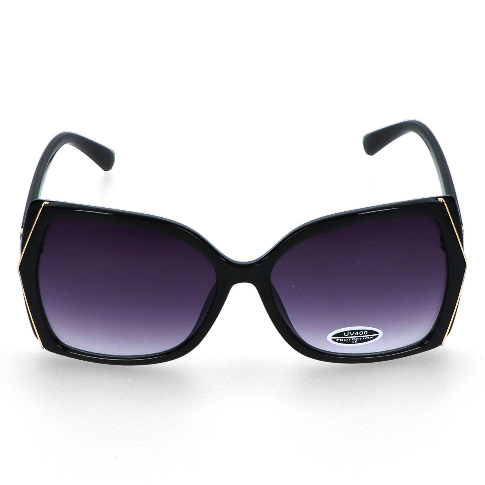 Dámske slnečné okuliare čierne - S6505