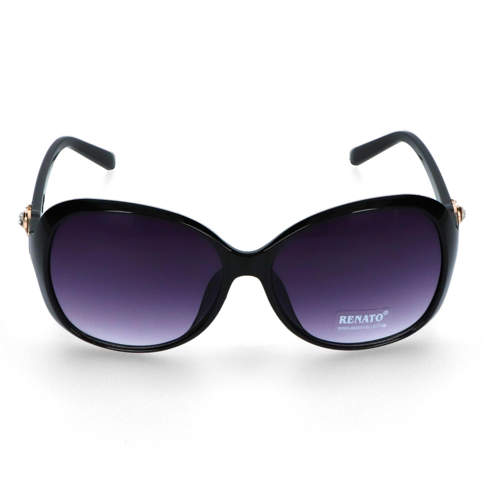 Dámske slnečné okuliare čierne - I213