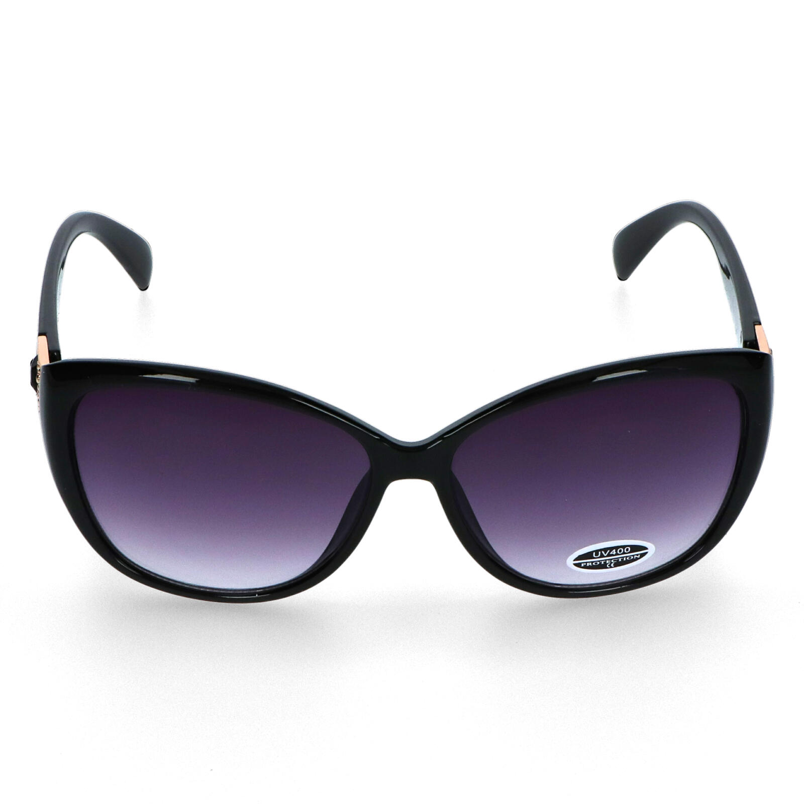Dámske slnečné okuliare čierne - CAT805