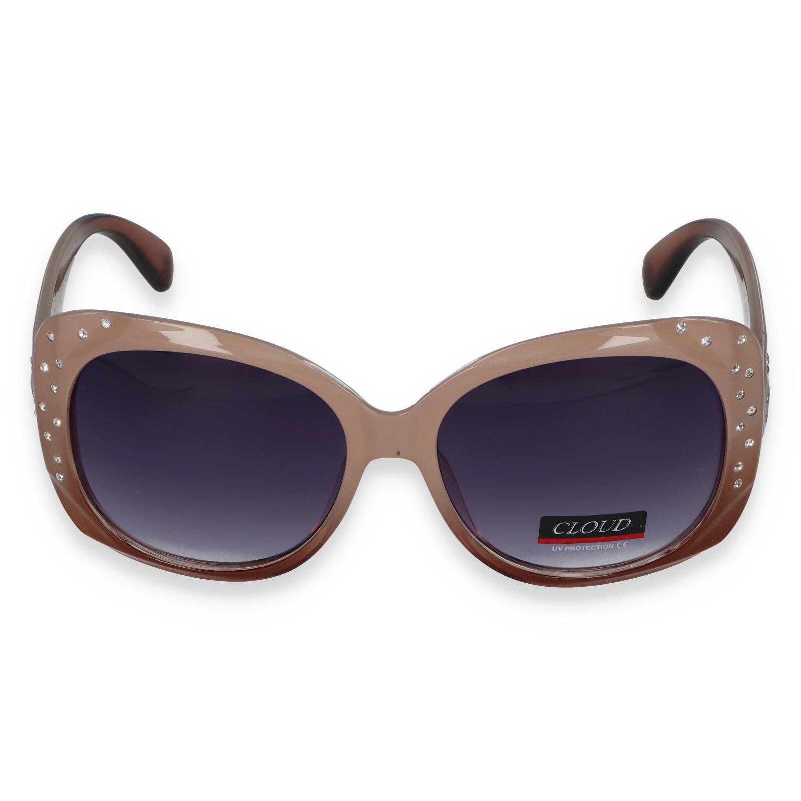 Dámske slnečné okuliare béžové - C2092