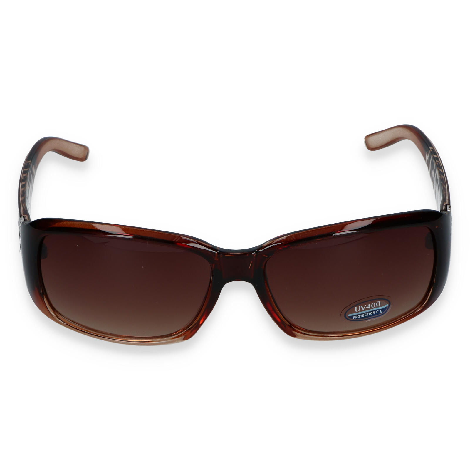 Dámske slnečné okuliare hnedé - SM08