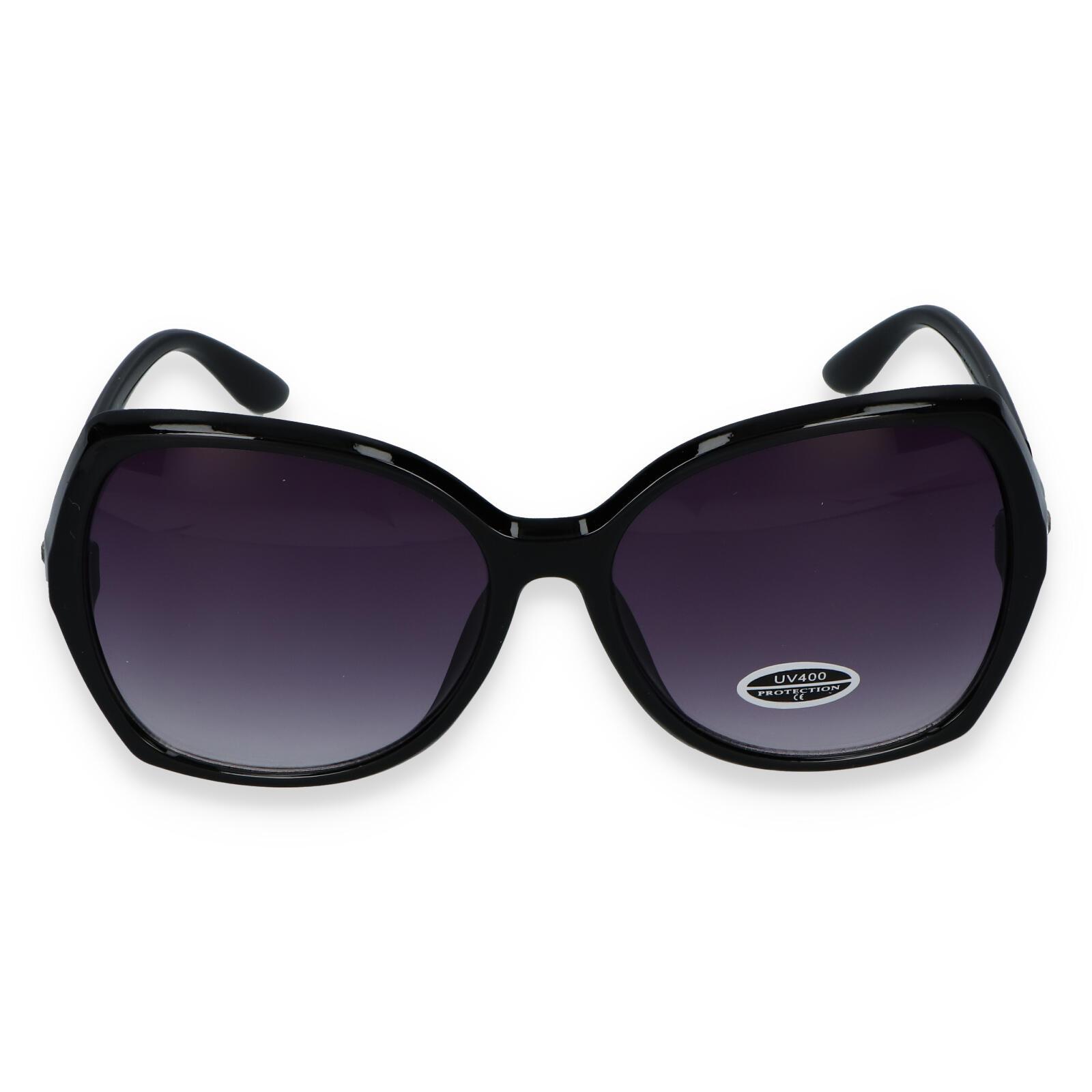 Dámske slnečné okuliare čierne - S3505