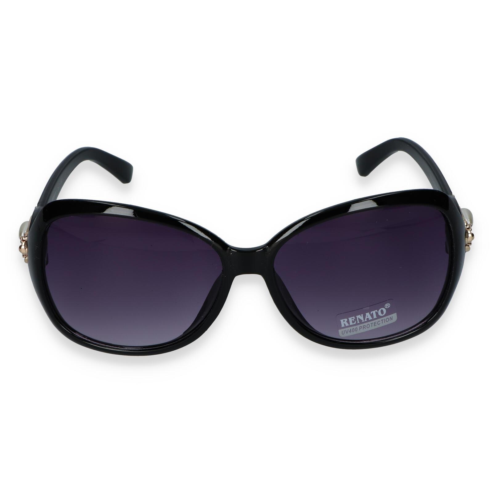 Dámske slnečné okuliare čierne - R013