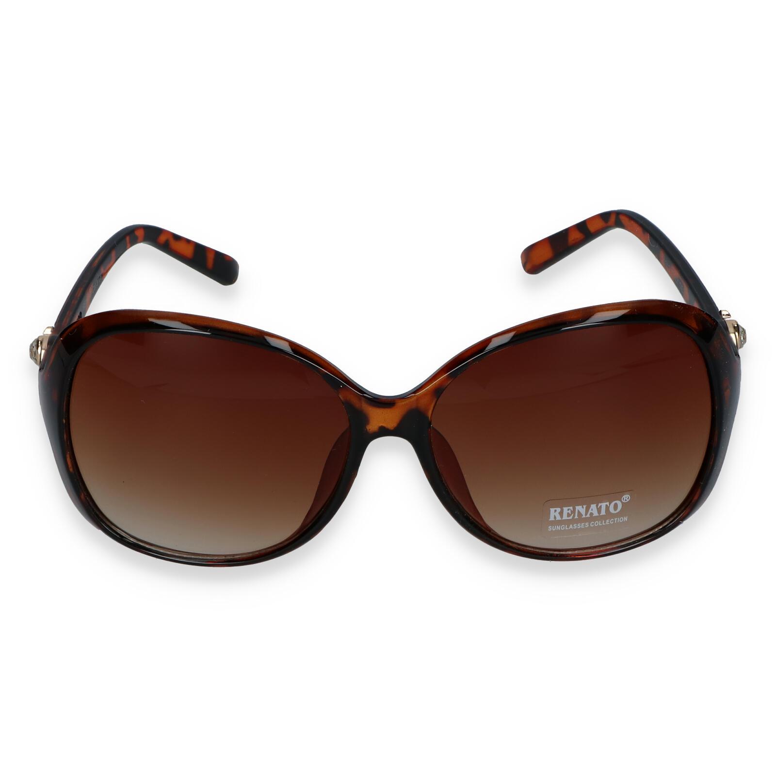 Dámske slnečné okuliare hnedé - I213