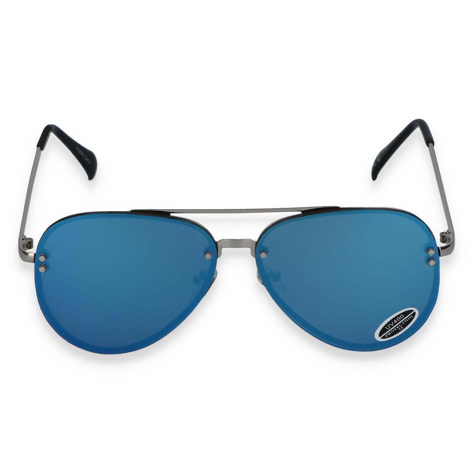 Dámske slnečné okuliare modré - S3237