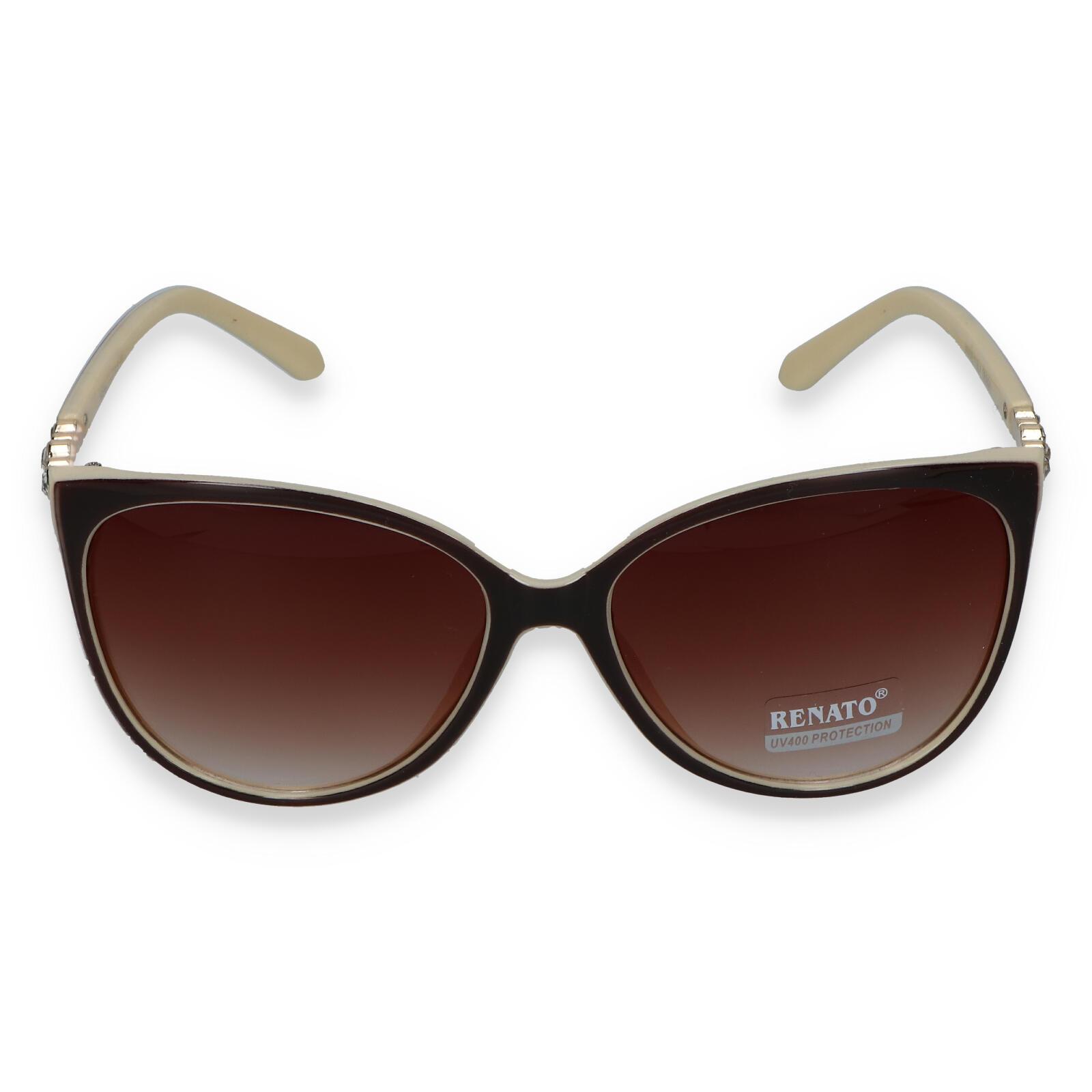 Dámske slnečné okuliare béžovo hnedé - LUX232