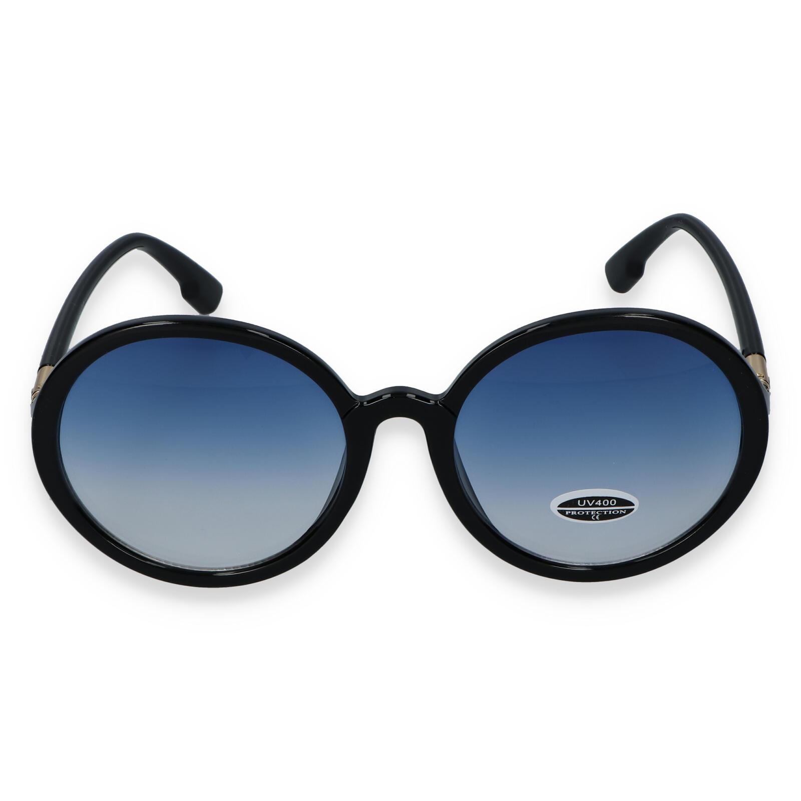 Dámske slnečné okuliare čierne - S9305