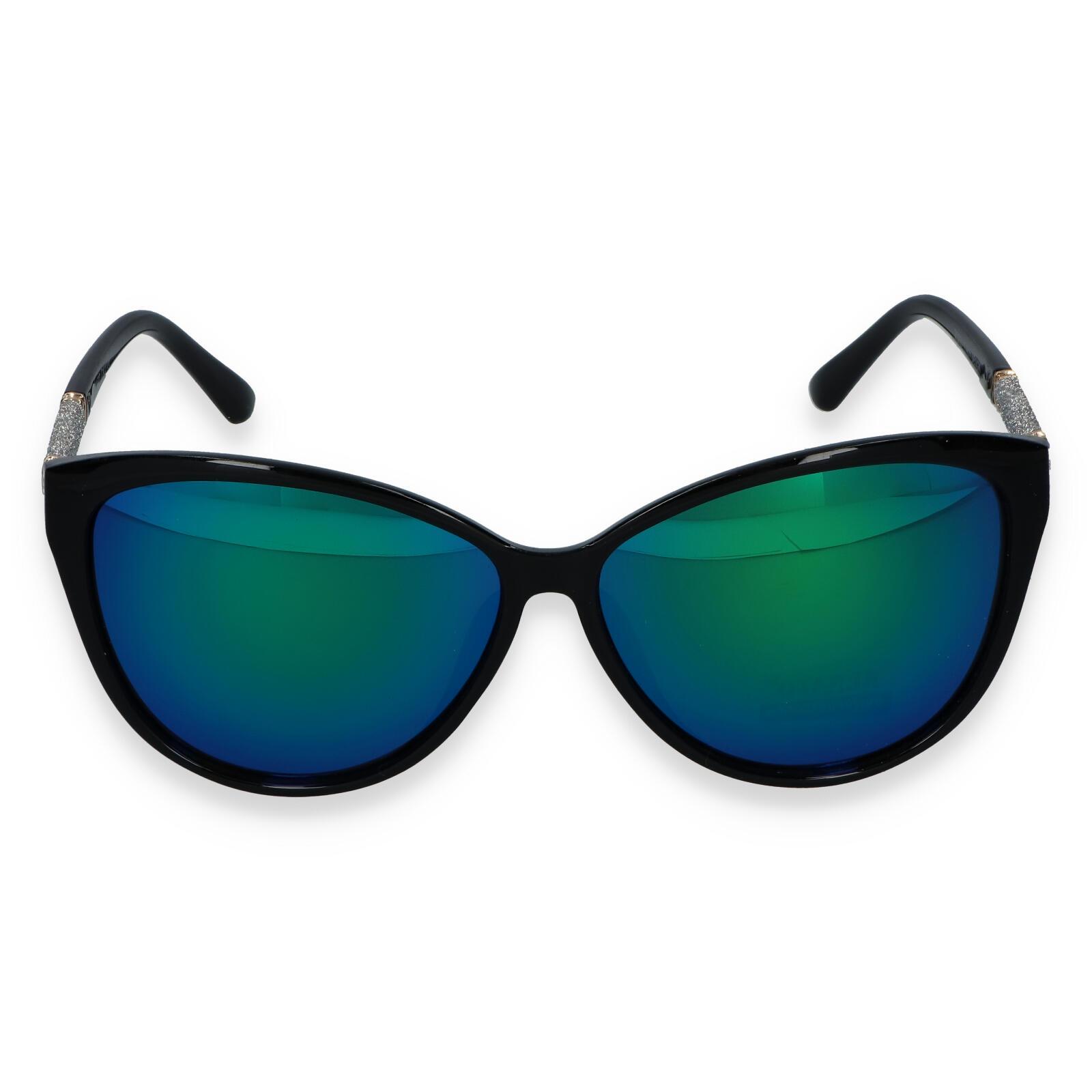 Dámske slnečné okuliare čierne - R022C