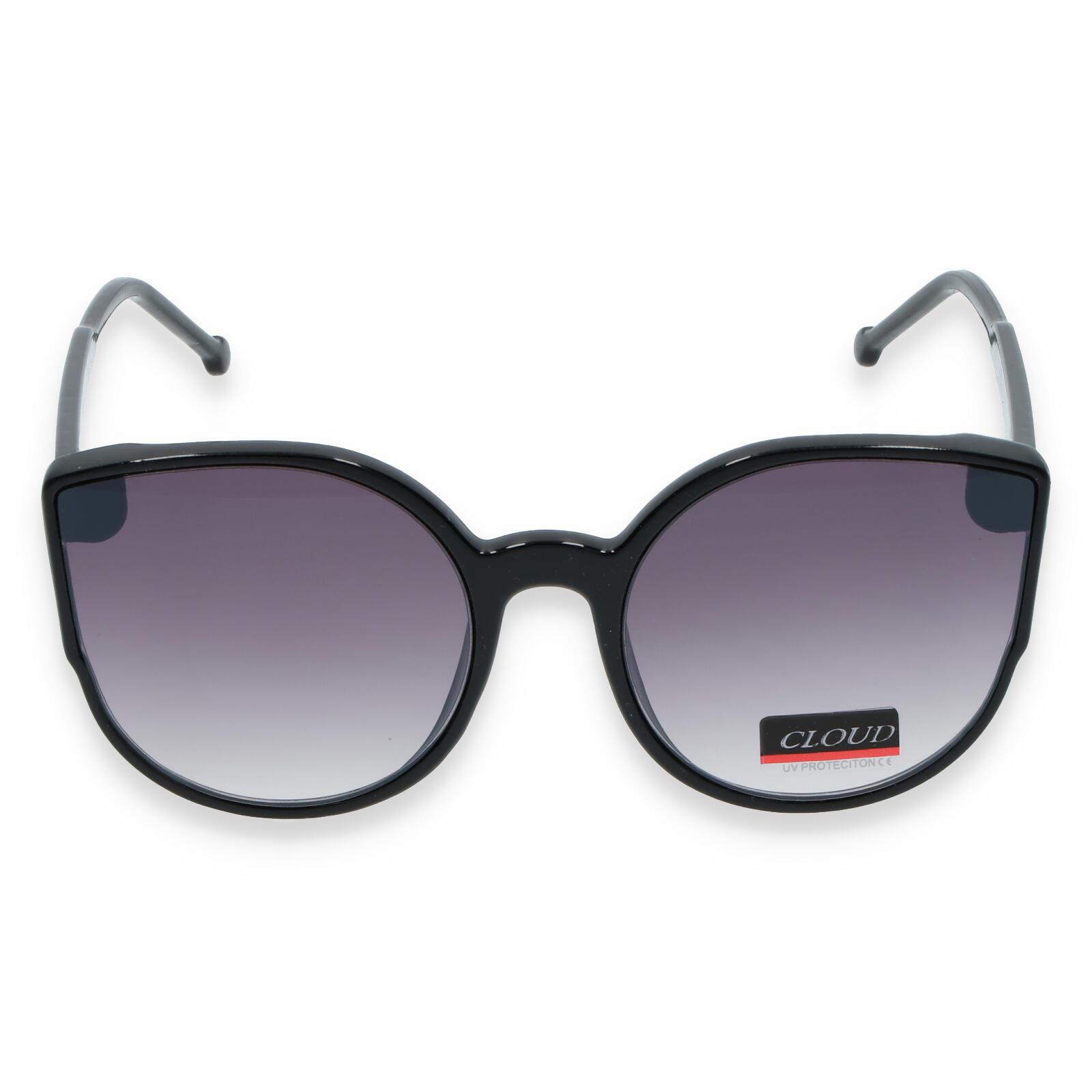 Dámske slnečné okuliare čierne - CAT8086