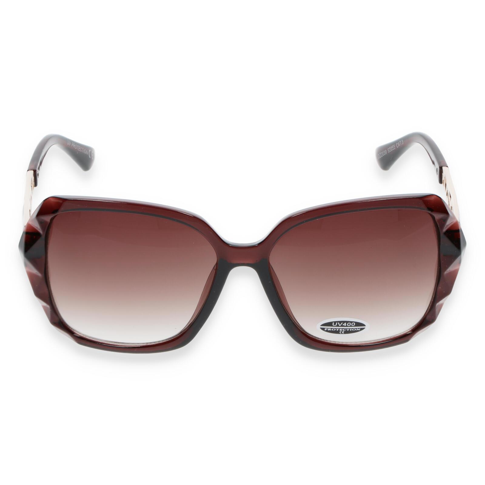 Dámske slnečné okuliare jantárové - S5505