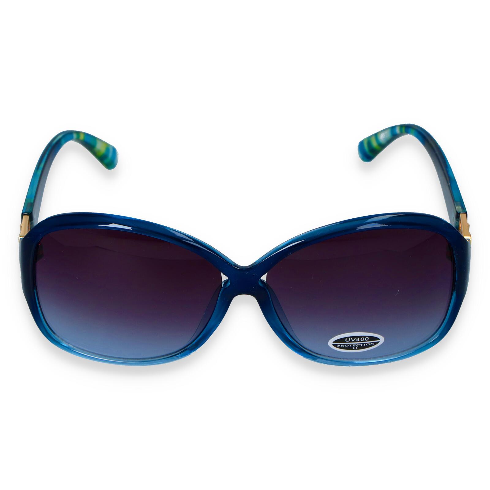 Dámske slnečné okuliare modré - S7705