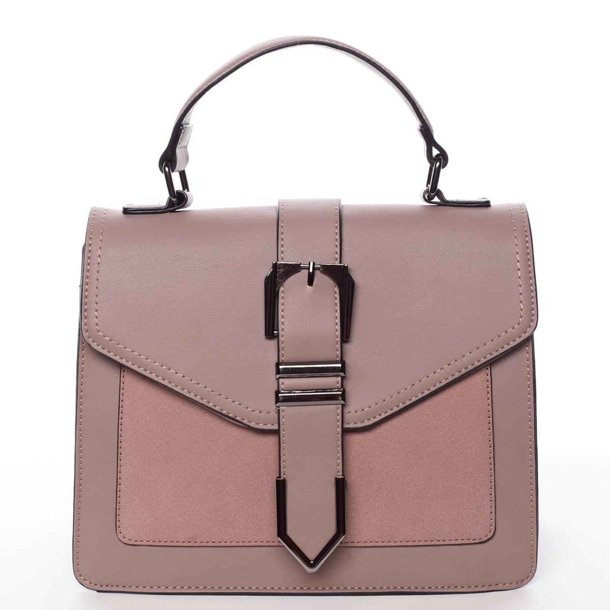 Nadčasová dámska kabelka do ruky ružová - MARIA C Justice