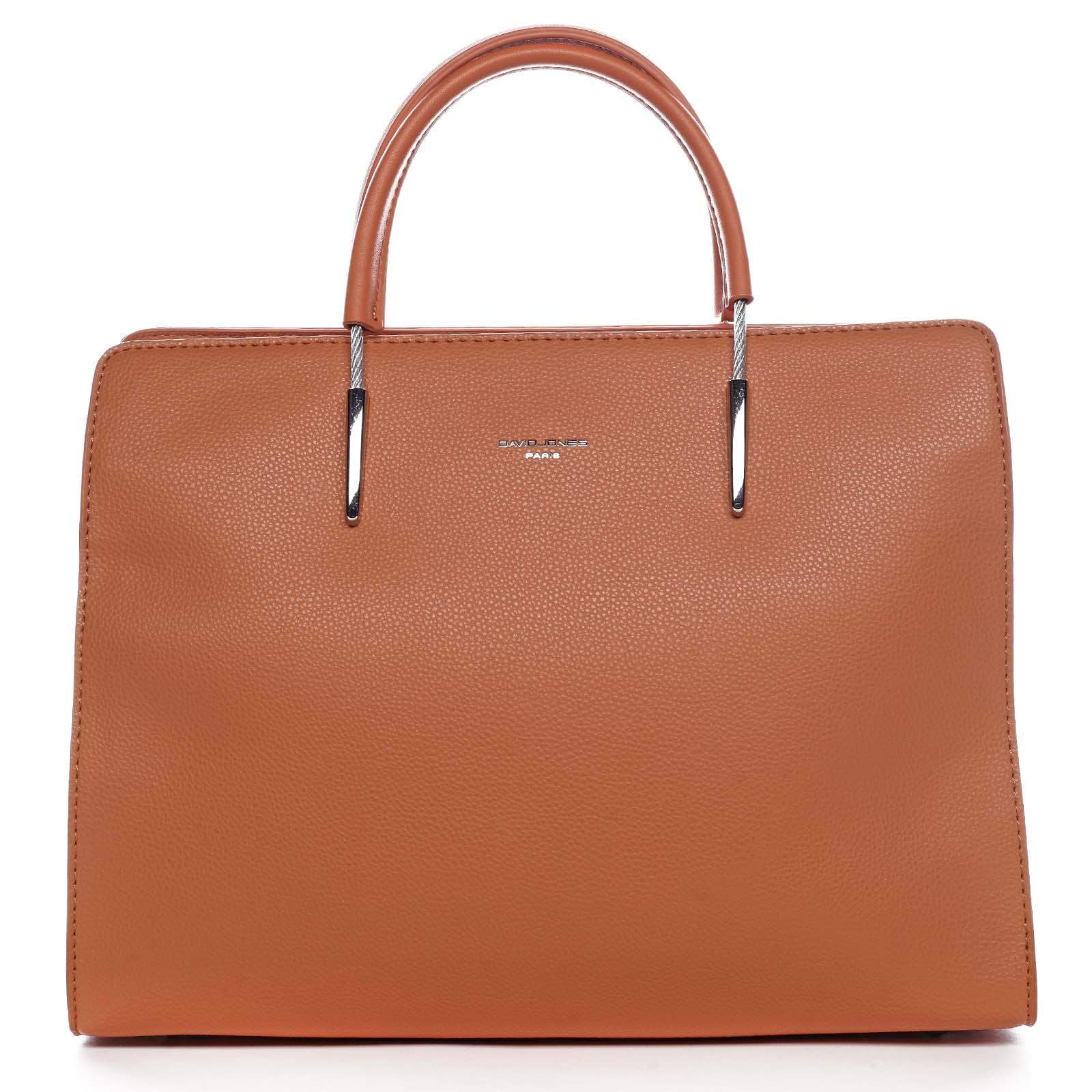 Dámska kabelka do ruky oranžová - David Jones Miracle